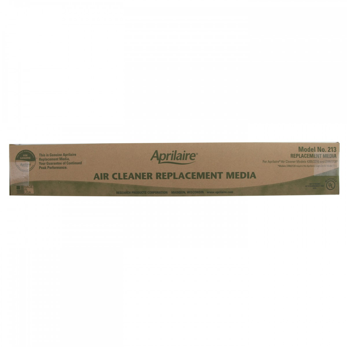 Aprilaire 213 Air Purifier Replacement Filter