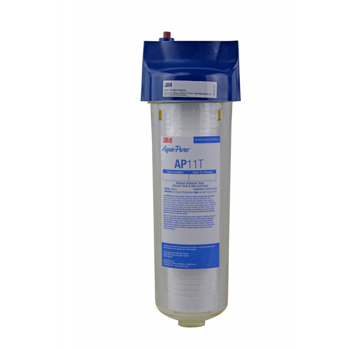 3m Aqua Pure Ap11t Whole House Water Filter