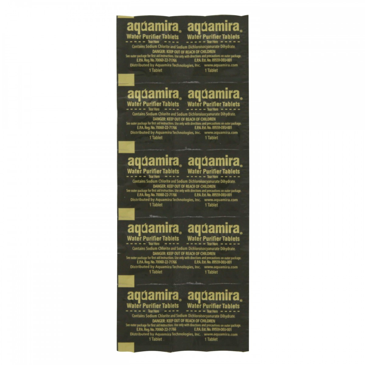 Aquamira 67406 Water Purification Tablets