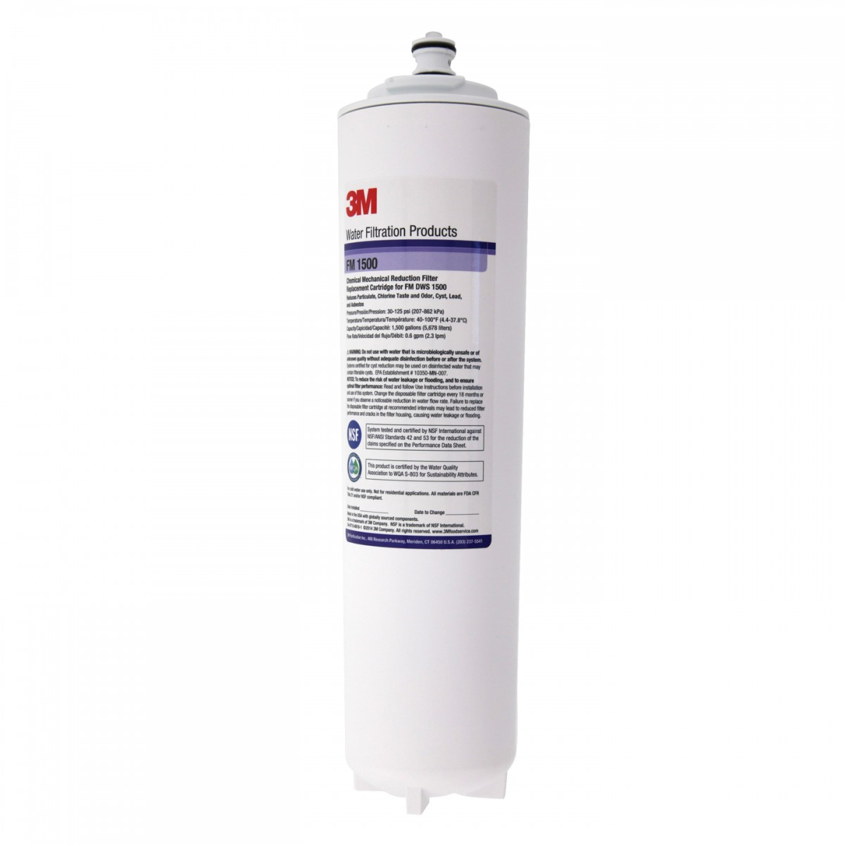 Fm 1500 Dws Water Factory Systems Filter