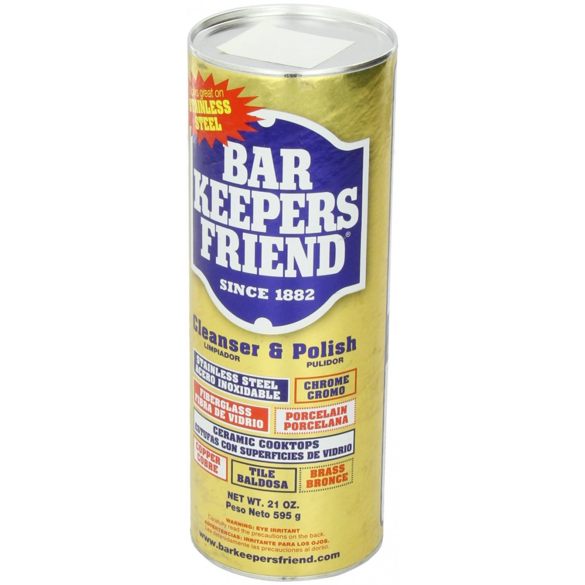 bar keepers friend cooktop cleaner 21 ounce. Black Bedroom Furniture Sets. Home Design Ideas