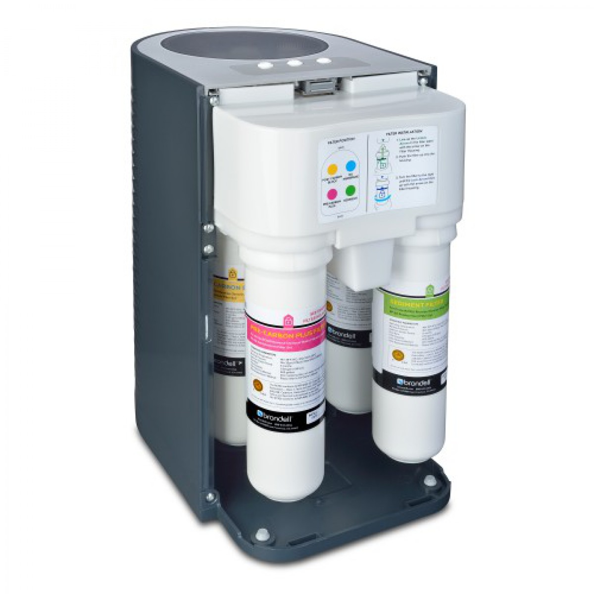 brondell h2o circle reverse osmosis water filtration system. Black Bedroom Furniture Sets. Home Design Ideas