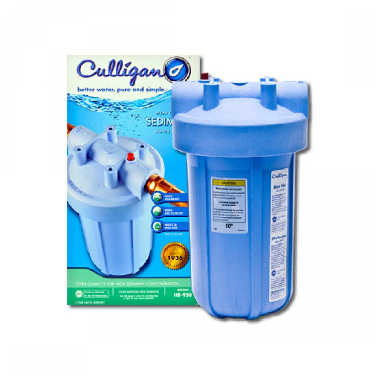 hd950 culligan whole house water filter system - Whole House Water Filtration System