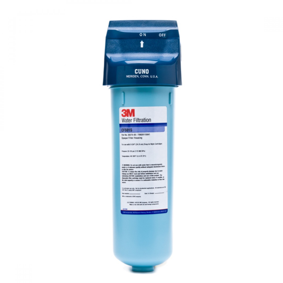 Cfs01s Cuno Whole House Water Filter Housing