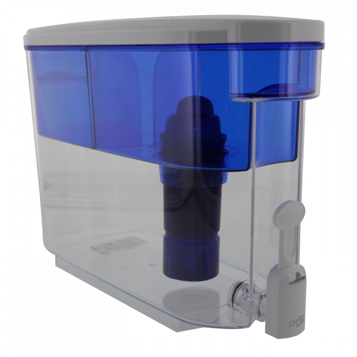 Pur 2 stage ds 1800z 160 ounce filtered water dispenser for Water fountain filtration system