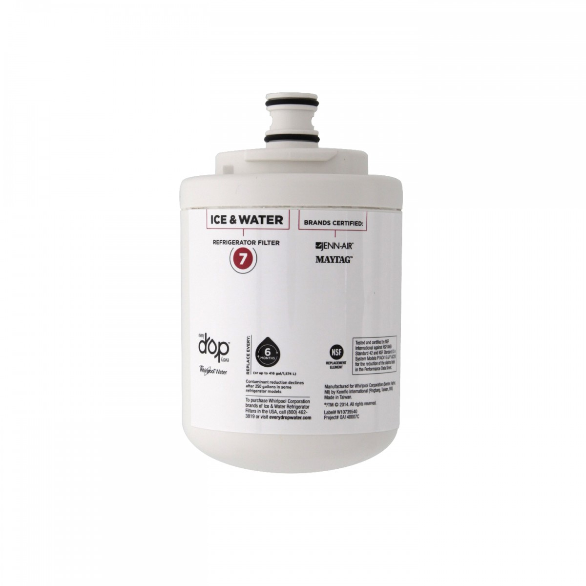 Kitchenaid Side By Side Refrigerator Water Filter