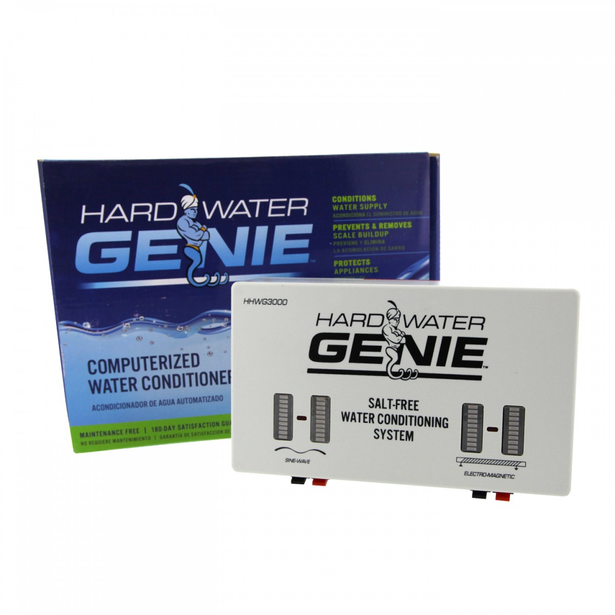 Hard Water Genie Salt Free Rf And Dic Water Conditioner System