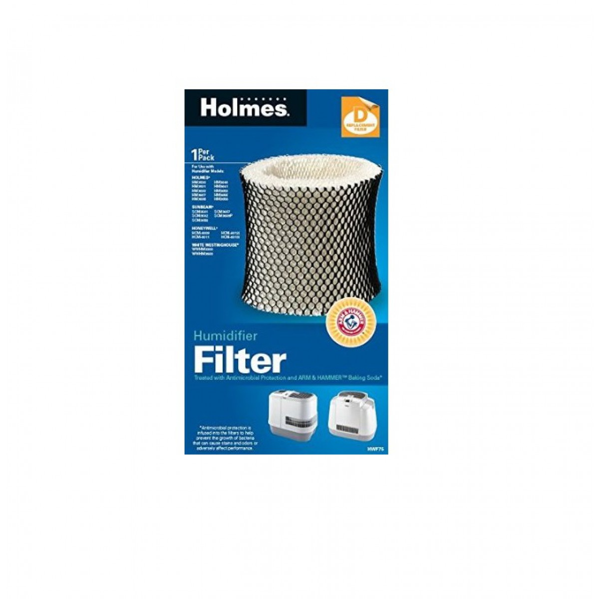 Home > Holmes HWF75PDQ U Humidifier Wick Filter D for Holmes models  #015190