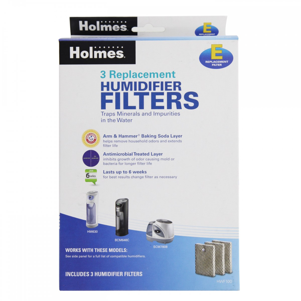 Holmes HWF100UC3 Replacement Air Filter DiscountFilterStore.com #336898