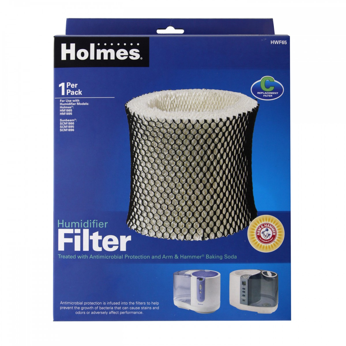 Holmes HWF65PDQ U Humidifier Wick Filter 'C' DiscountFilterStore.com #1661B5