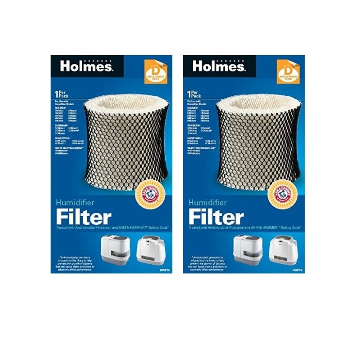 > Humidifier Filters > Holmes HWF75PDQ U Humidifier Wick Filter  #015190