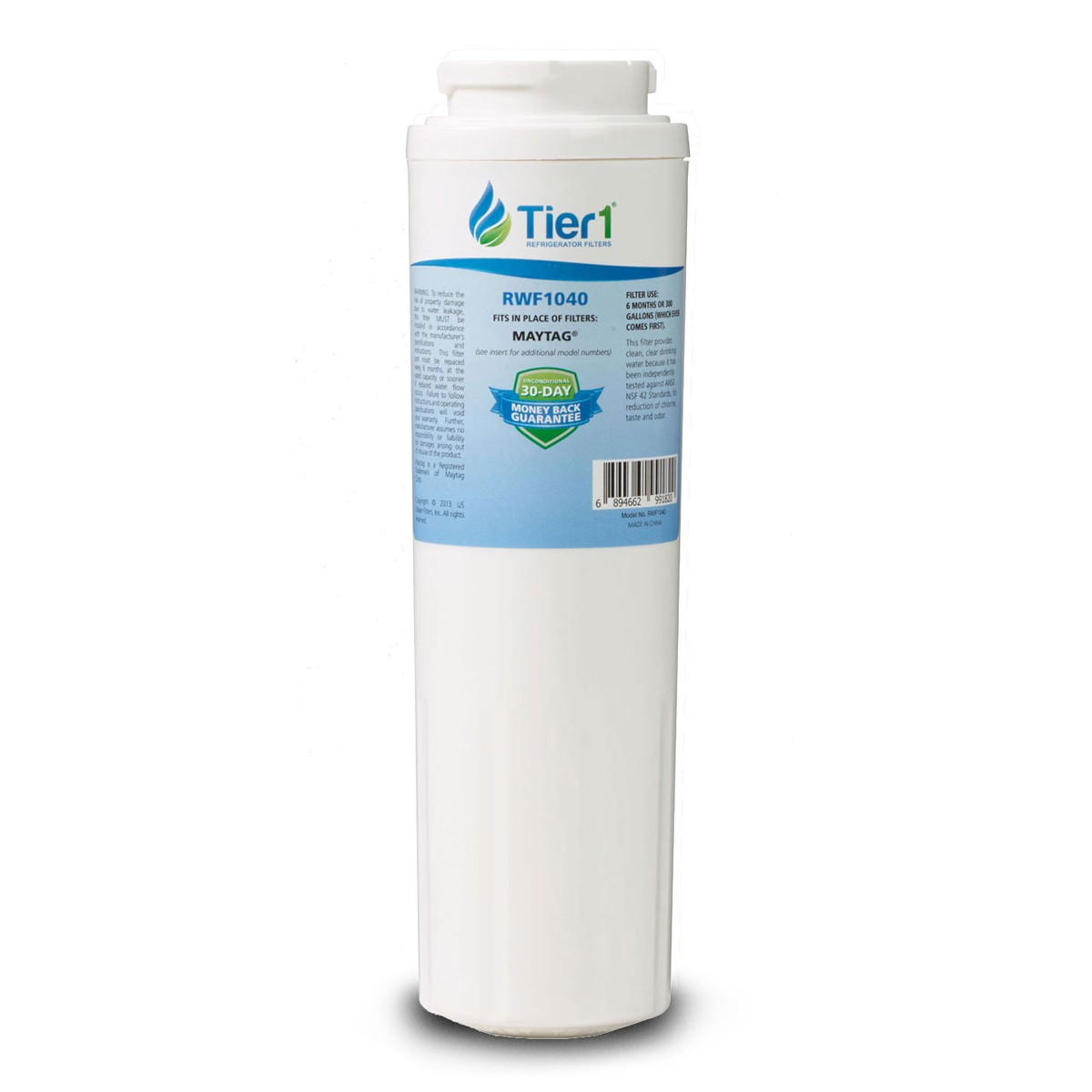 Ukf8001 Maytag Comparable Refrigerator Water Filter By Tier1