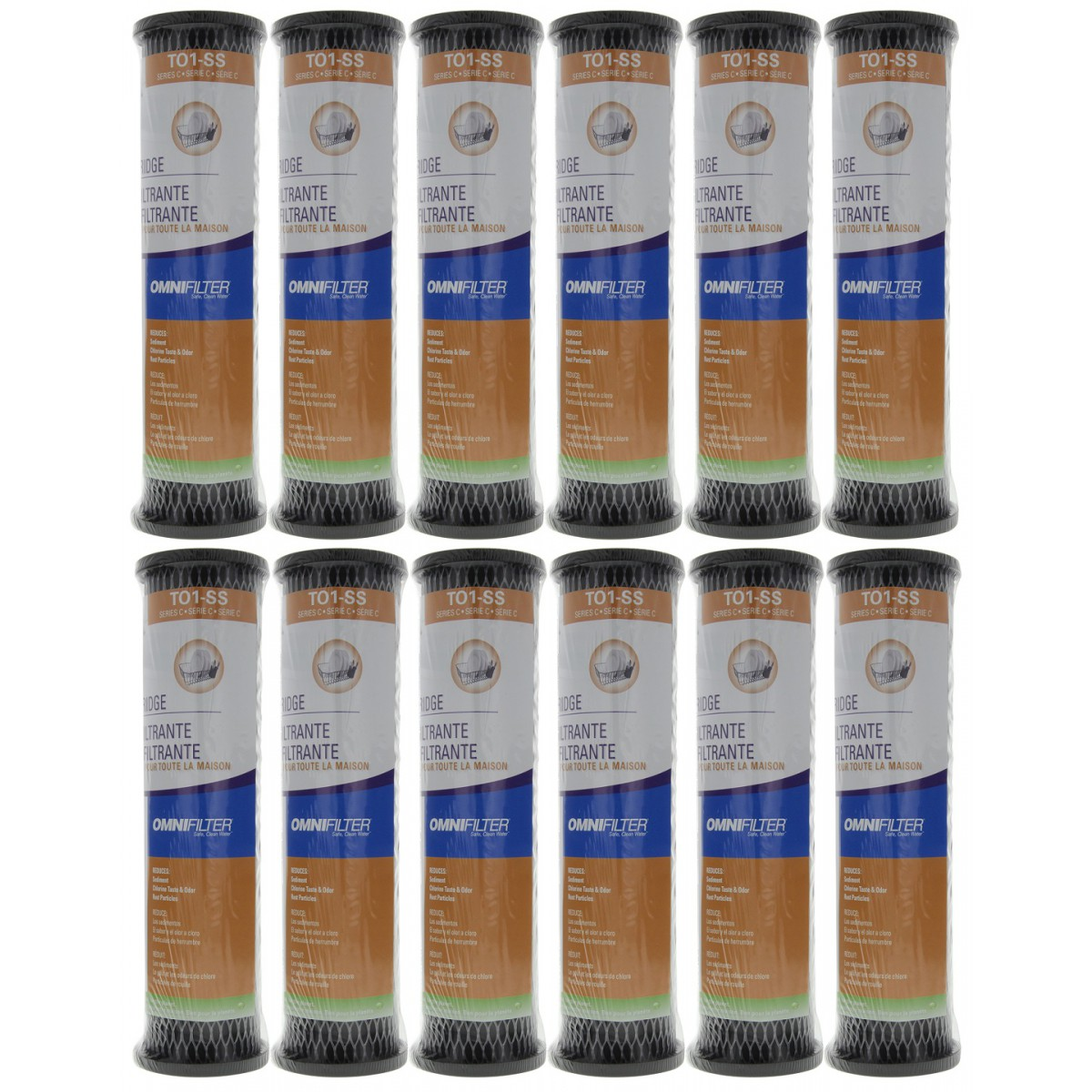 To1ss Omnifilter Whole House Water Filter Replacement 12