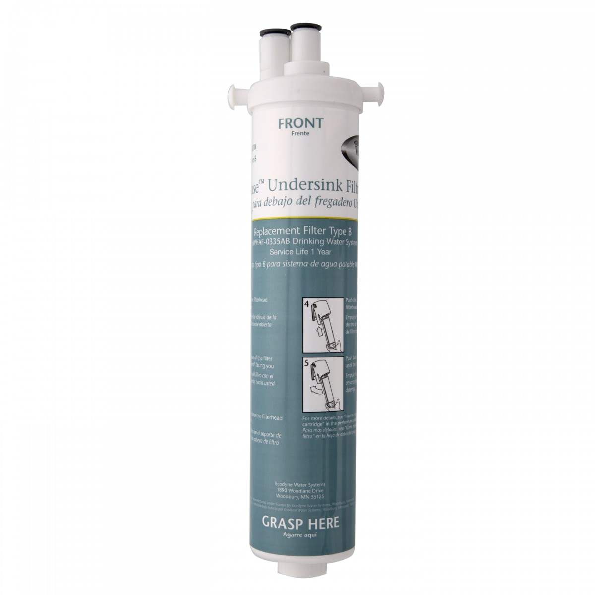 Whirlpool Ultraease Water Filter WHAB-6010 Whirlpool Replacement Unit B Water Filter Cartridge