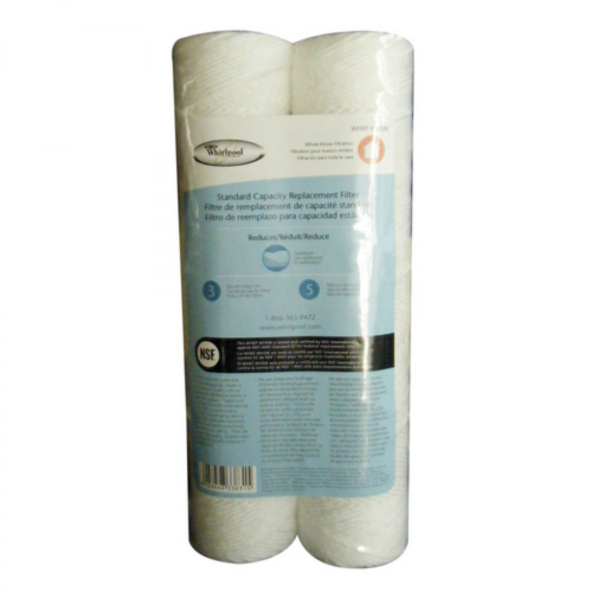 Whole House Sediment Water Filter Whirlpool Whkf Whsw Whole House Replacement Sediment Filter 2 Pack