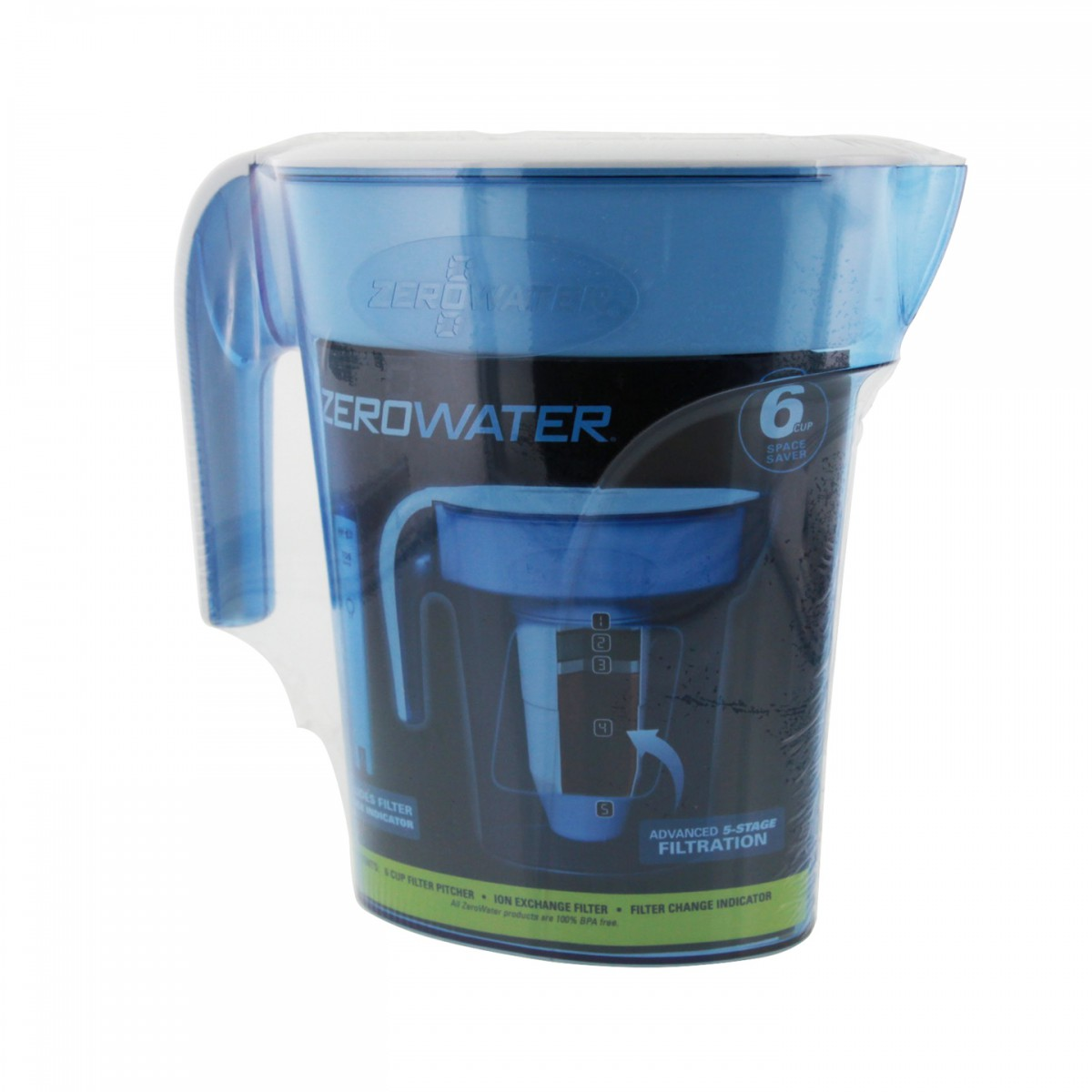 how to clean zero water pitcher