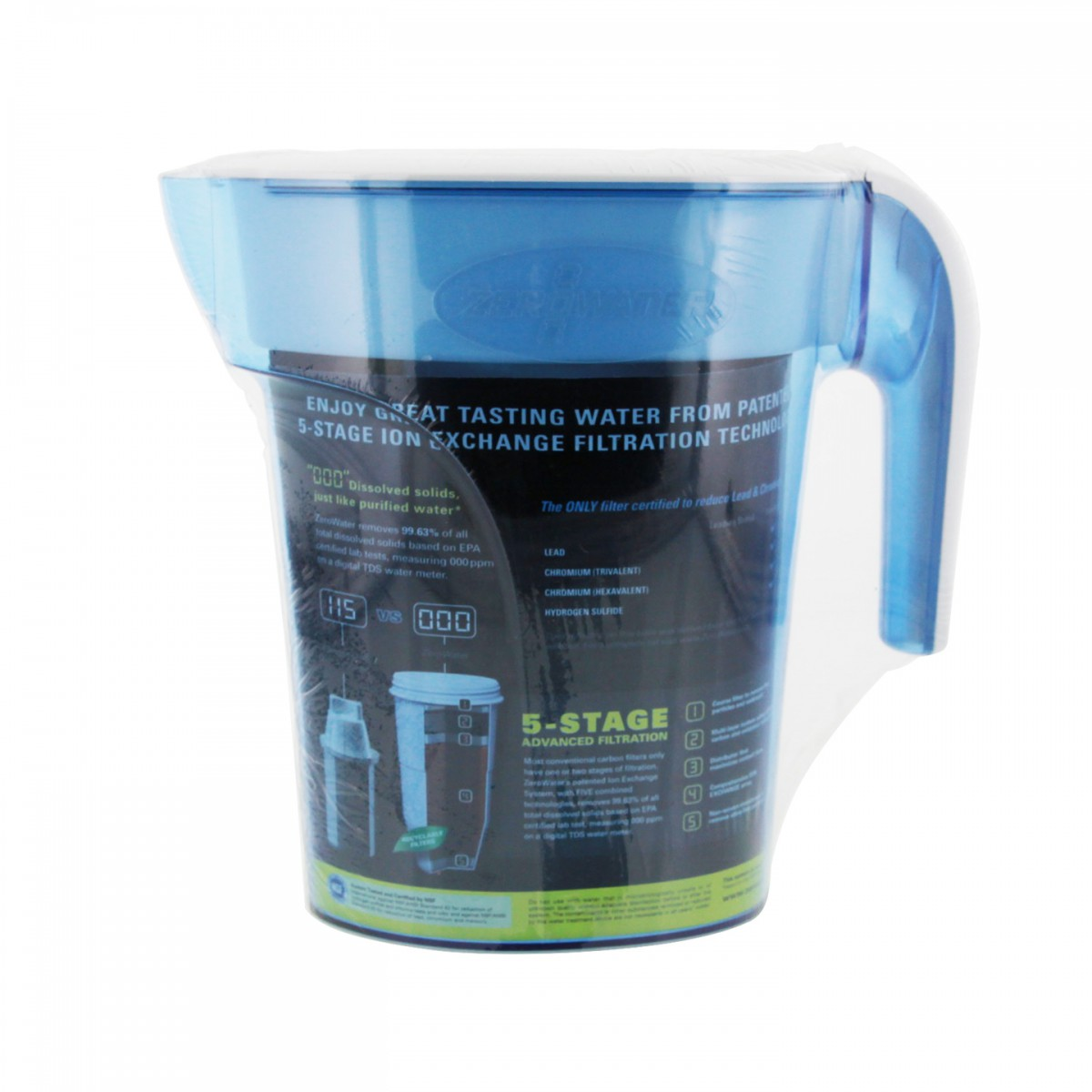 Zp 006 Zerowater Water Filter Pitcher