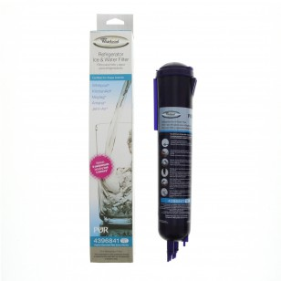 4396841 (side-by-side, push-button, fast-fill, in-the-grille) Whirlpool Refrigerator Water Filter - 1