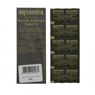 67406 Aquamira Water Purifier Tablets (Military) (50-Pack)