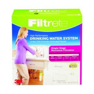 4US-MAXS-S01 Filtrete Single Stage Drinking Water System