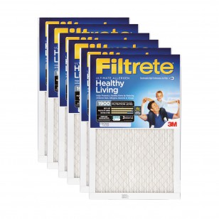 Filtrete 1900 Ultimate Allergen Filter - 23.5x23.5x1 (6-Pack)