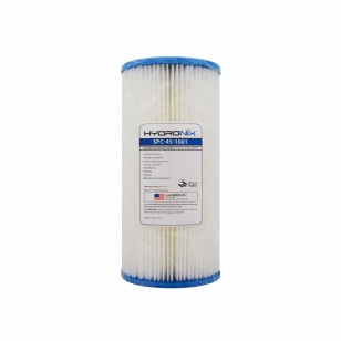 SPC-45-1001 Hydronix Pleated Sediment Water Filter