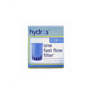 HBSF-1FLT Hydros Fast-Flow Side-Fill Water Purifier Bottle Replacement Filter