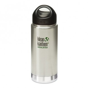K16VWSSL Klean Kanteen 16-Ounce Stainless Steel Wide Insulated Bottle with Loop-cap