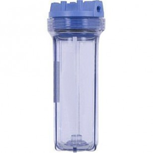 158008 Pentek Slim Line Filter Housing - Clear