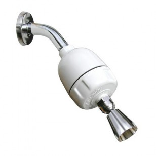 CQ-1000-DS Rainshowr Shower Filter System with Whedon Designer Shower Head - Chrome