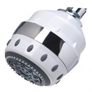 AR5-CT Sprite Royale Filtered Shower Head - White / Chrome