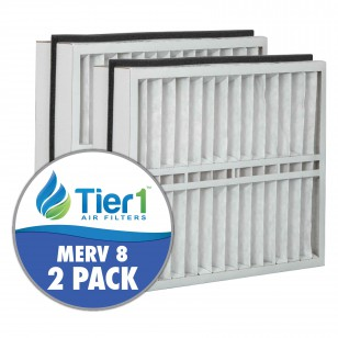 DPFT21X27X5AM8DAD Tier1 Replacement Air Filter - 21X27X5 (2-Pack)