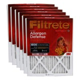 Filtrete 1000 Micro Allergen Defense Filter - 16x20x1 (6-Pack)