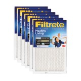 Filtrete 1900 Ultimate Allergen Healthy Living Filter - 24x24x1 (6-Pack)