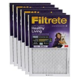 Filtrete 1500 Ultra Allergen Healthy Living Filter - 16x24x1 (6-Pack)