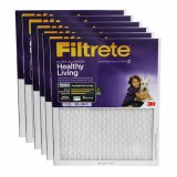 Filtrete 1500 Ultra Allergen Healthy Living Filter - 20x24x1 (6-Pack)