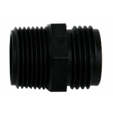 Hydrologic 3/4-inch Male Pipe to Male Garden Hose Thread Connector (#14186)