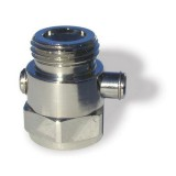 TV-1 Rainshowr Rain Saver Shower Shut-off Valve - Chrome Plated Brass