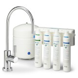 RO-QC-450 4-Stage Quick Change Reverse Osmosis Water Filter System by Tier1 (50 GPD)