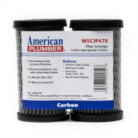 W5CIP478 American Plumber Undersink Compact Filter Replacement Cartridge (2-Pack)