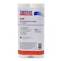 W5P American Plumber Whole House Sediment Filter Cartridge (2-Pack)