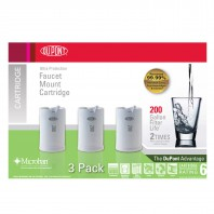 WFFMC303X DuPont Faucet Mount Replacement Cartridges - Ultra Protection Filter (3-pack)