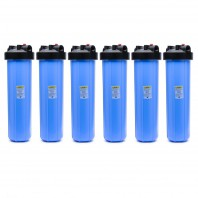 HFPP-1-PR20 Pentek Big Blue Whole House 20 inch Filter (6-Pack)