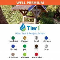 PREMIUM Tier1 Water Testing and Analysis Service for WELL water