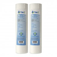 P5 Pentek Comparable Whole House Replacement Sediment Filter Cartridge by Tier1 (2-Pack)