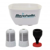 1-40100-2-RES Seychelle Dual Filter and Reservoir