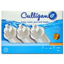 PR-3 Culligan Water Pitcher Replacement Cartridge (3-Pack)