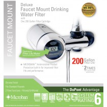 WFFM350XCH DuPont Deluxe Faucet Mount Drinking Water Filter - Chrome