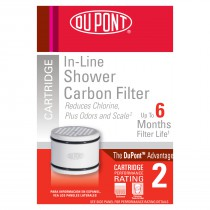 Dupont WFSSC0501 Shower Water Filter Replacement Cartridge