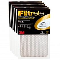 Filtrete 2200 Elite Allergen Filter - 20x20x1 (6-Pack)